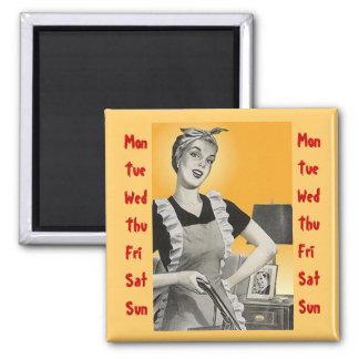 Magnet ~ RETRO Mid-Century HomeMaker 7 days a week