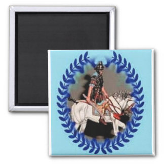 Magnet Roman Horse Soldier By Ladee Basset