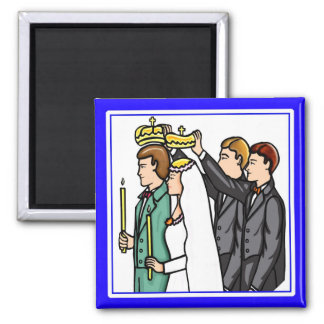 Magnet: Russian Orthodox 2 Inch Square Magnet