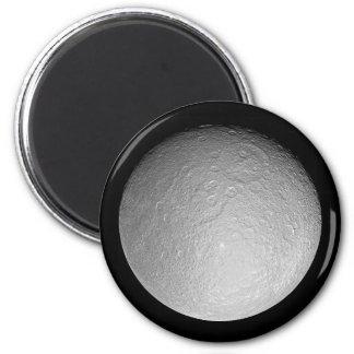 Magnet: Saturn's moon Rhea 2 Inch Round Magnet