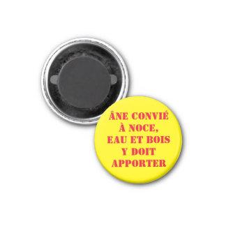 magnet saying