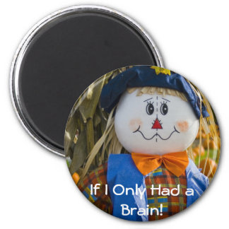 Magnet: Scarecrow 2 Inch Round Magnet