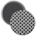 Magnet Seamless retro pattern