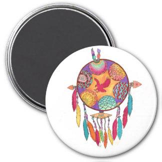 Magnet, southwestern native american mandala magnet