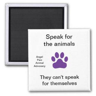 Magnet - Speak for the animals