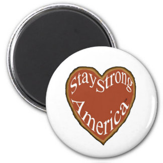 Magnet, Stay Strong America Heart Magnet