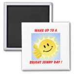 Magnet_Sunny day 2 Inch Square Magnet