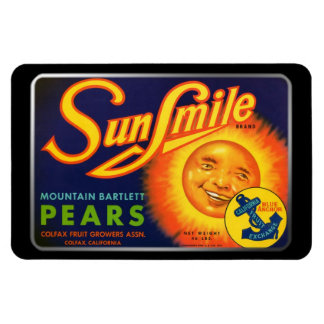 Magnet - SunSmile Pears, by GalleryGifts