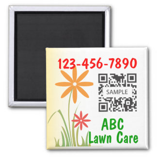 Magnet Template Lawn Care