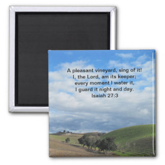 Magnet: Templeton, CA Wine Country Vineyard 2 Inch Square Magnet