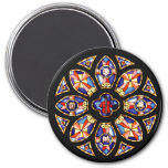 """Magnet """"The Rose Window"""""""