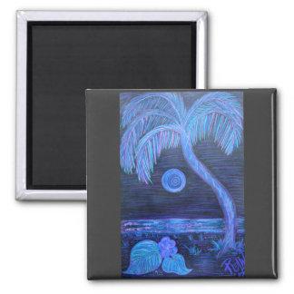Magnet -Tropical Moonlight