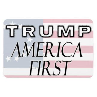 Magnet: TRUMP - America First Magnet