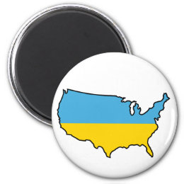 Magnet: Ukrainian in USA Magnet
