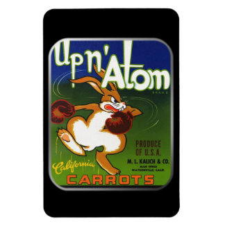 Magnet - Up n' Atom Carrots, by GalleryGifts