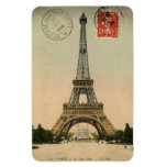 Magnet - Vintage French Postcard 'Eiffel Tower'