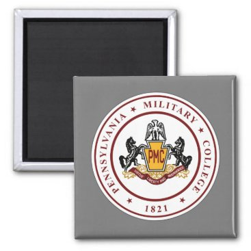 Magnet w/PMC Seal Logo (square or round)
