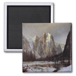 Magnet With Albert Bierstadt Painting