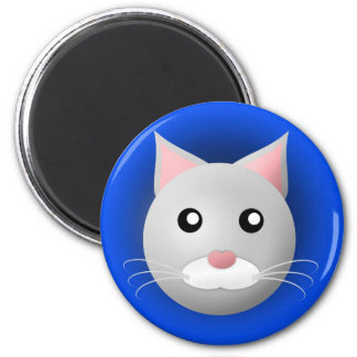 magnet with animal: cat