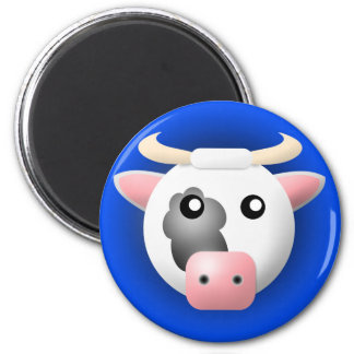 magnet with animal: cow
