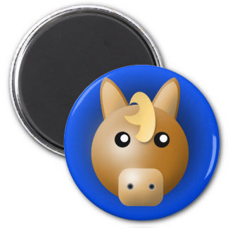 magnet with animal: horse
