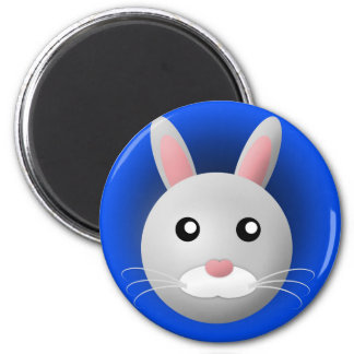 magnet with animal: rabbit