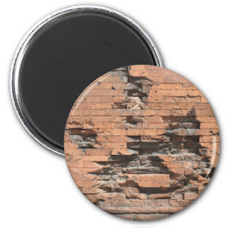 Magnet with Brick Wall Texture