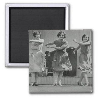 Magnet with custom historic photo