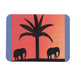 Magnet with Elephant Design