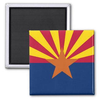 Magnet with Flag of  Arizona State - USA