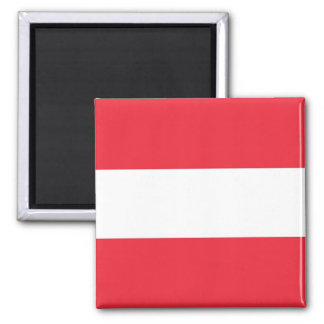 Magnet with Flag of Austria