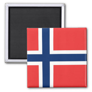 Magnet with Flag of Norway