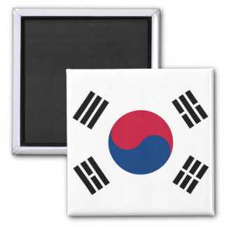 Magnet with Flag of South Korea