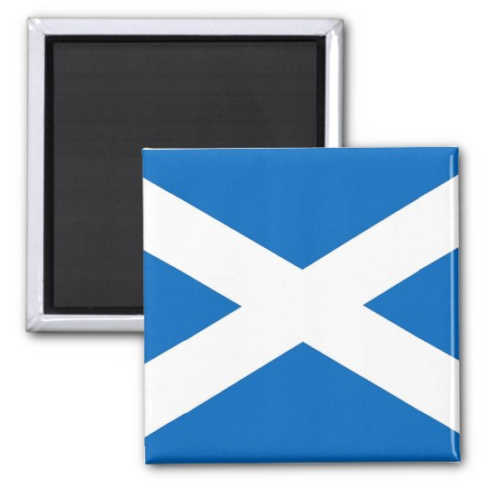 Magnet with Flag of the Scotland