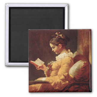 Magnet With Jean-Honore Fragonard Painting