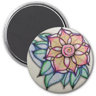 Magnet with Meditation Flower