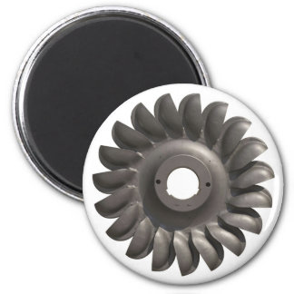 Magnet with Water Turbine
