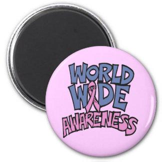 Magnet - World Awareness Breast Cancer