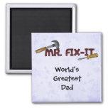 Magnet-World's Greatest Dad-Mr Fix it