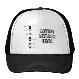 Magnetic Anomalies Inside (Geomagnetic Polarity) Trucker Hat