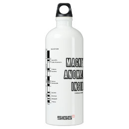 Magnetic Anomalies Inside (Geomagnetic Polarity) Water Bottle