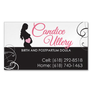 Magnetic Business Card - Doula Services