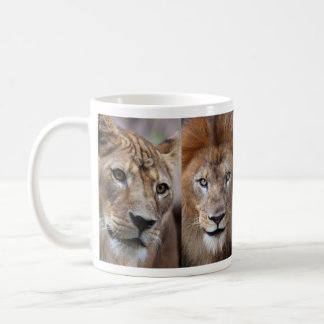 Magnetic cup 2 of lion coffee mugs