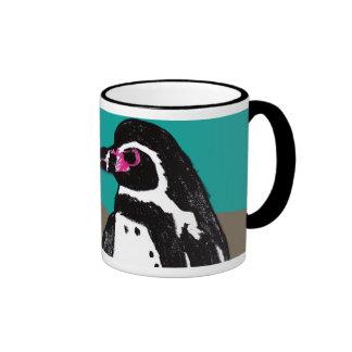 Magnetic cup Humboldt penguin Ringer Coffee Mug