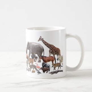 Magnetic cup of animal