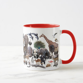 Magnetic cup of animal, No.04