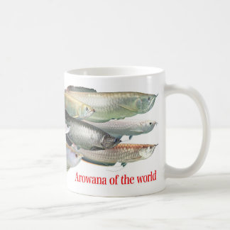 Magnetic cup of arowana of the world mug