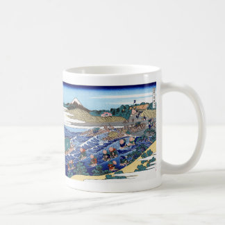 Magnetic cup of Katsushika north 斎, No.05 Classic White Coffee Mug