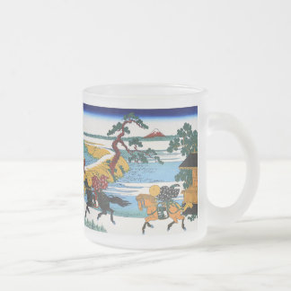 Magnetic cup of Katsushika north 斎, No.13 10 Oz Frosted Glass Coffee Mug