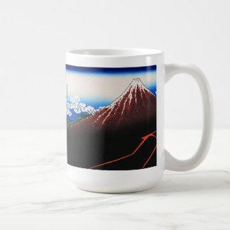 Magnetic cup of Katsushika north 斎, No.32 Classic White Coffee Mug